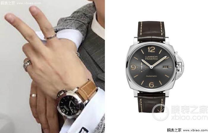 王嘉尔戴这腕表RAP的非常好的歌手 第5张