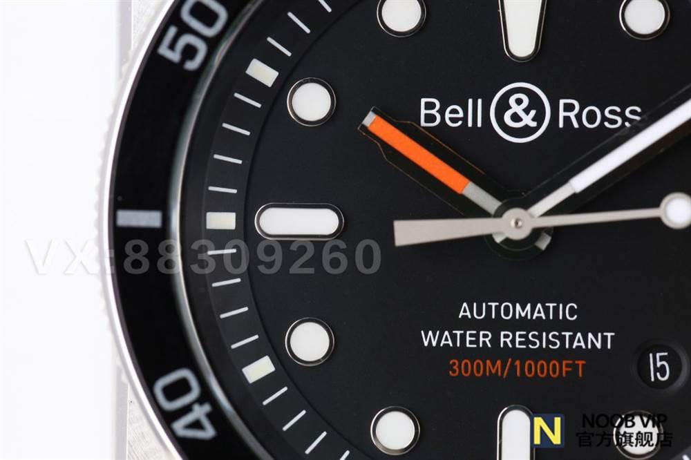 BR厂柏莱士BR0392复刻版军工级潜水表评测