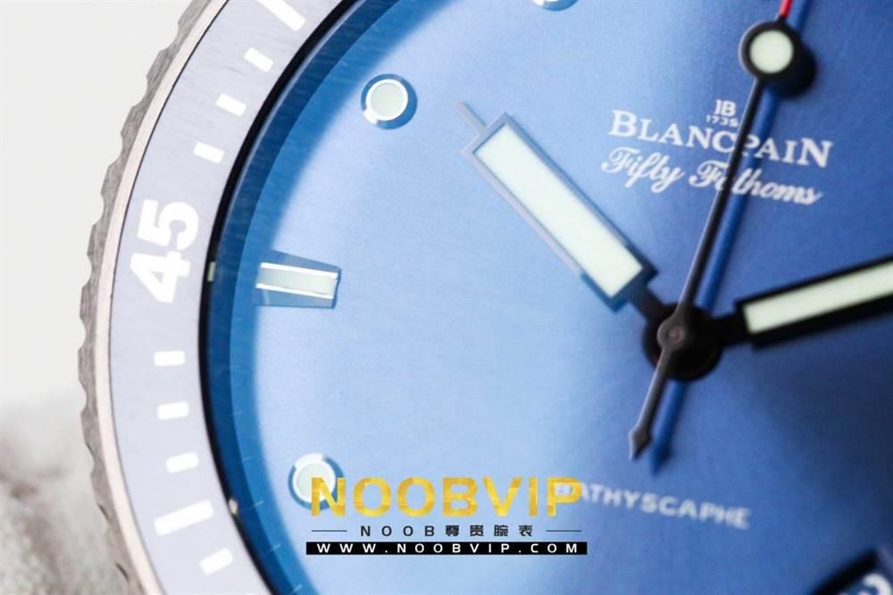 GF厂宝珀五十寻5000深潜器-蓝面陶瓷壳版本 第11张