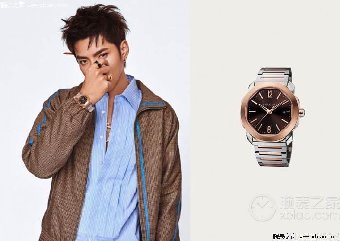 参考一下明星的腕表搭配 第9张