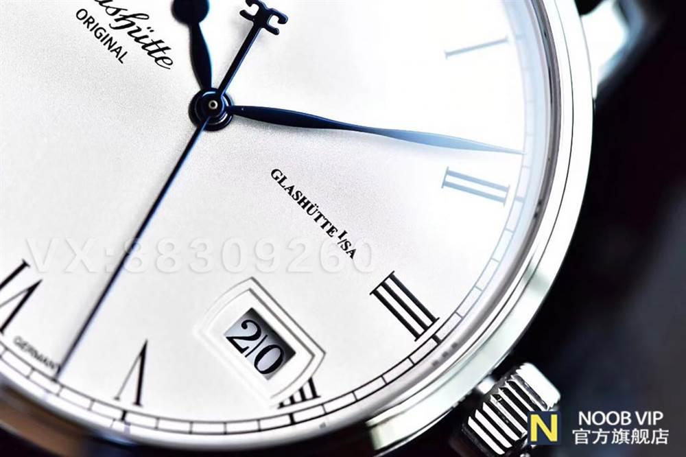 GF厂格拉苏蒂原创议员系列100-04-32-12-04大日历月相腕表最新评测 第9张