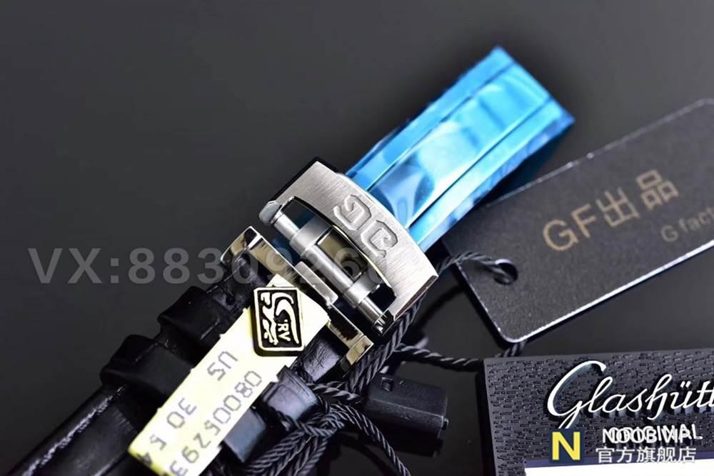 GF厂格拉苏蒂原创议员系列100-04-32-12-04大日历月相腕表最新评测 第4张