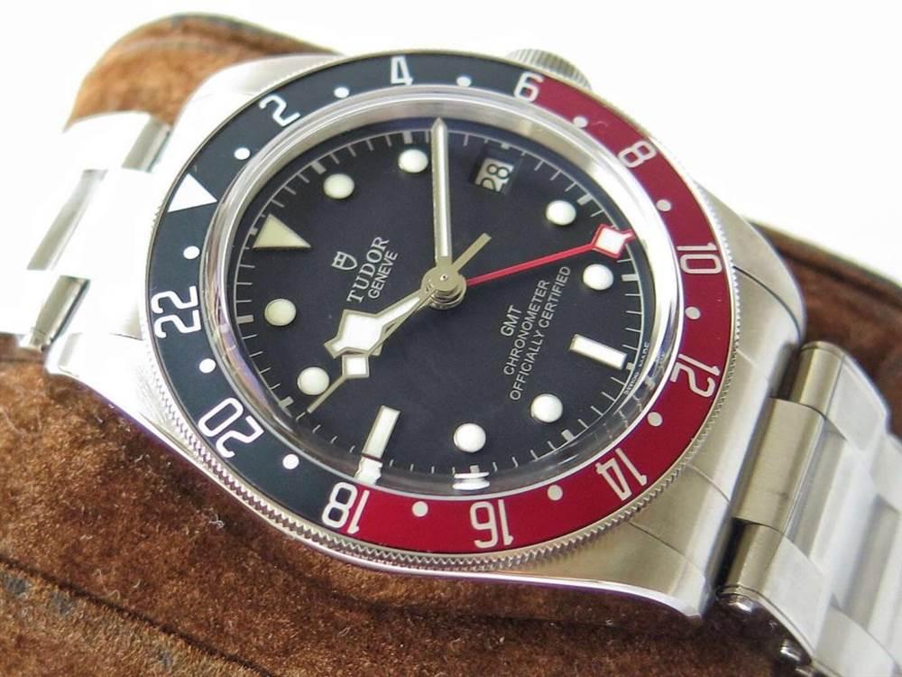 ZF厂帝舵碧湾系列M79830RB-0001红蓝圈腕表首发 第3张