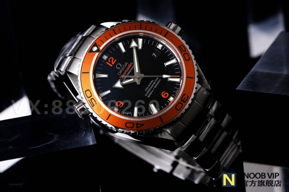 VS厂欧米茄海马600骚橙圈腕表钢带款首发详解