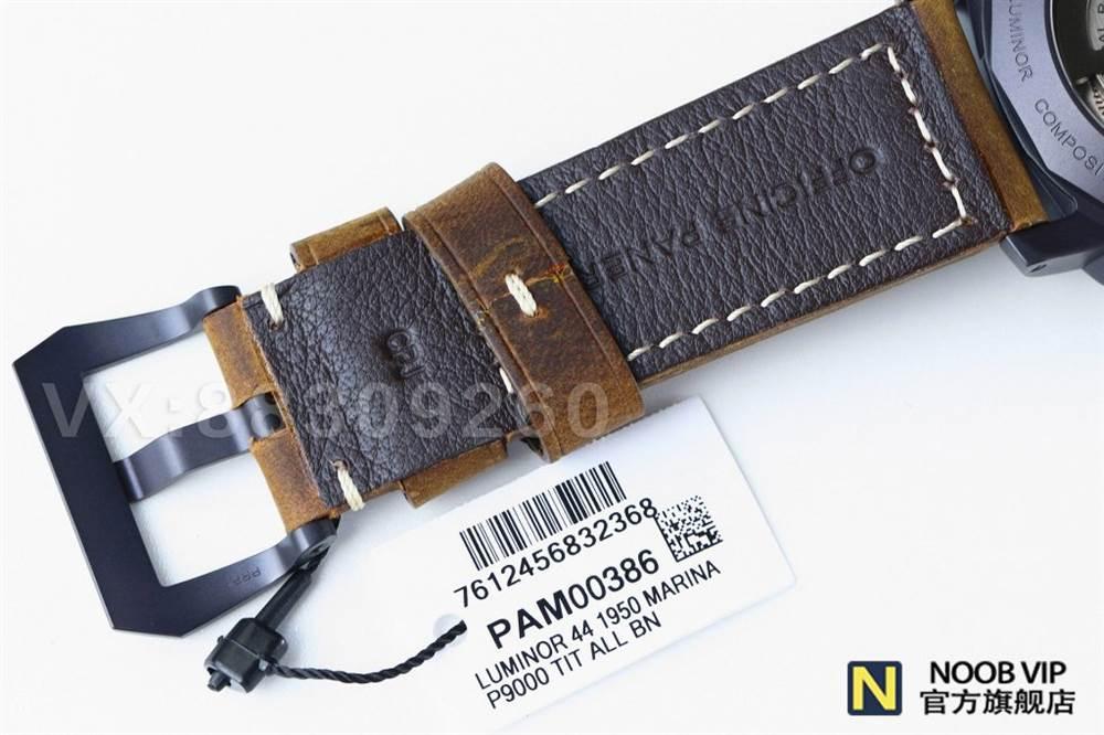 精湛的咖啡色军表-VS厂沛纳海PAM386复刻版本