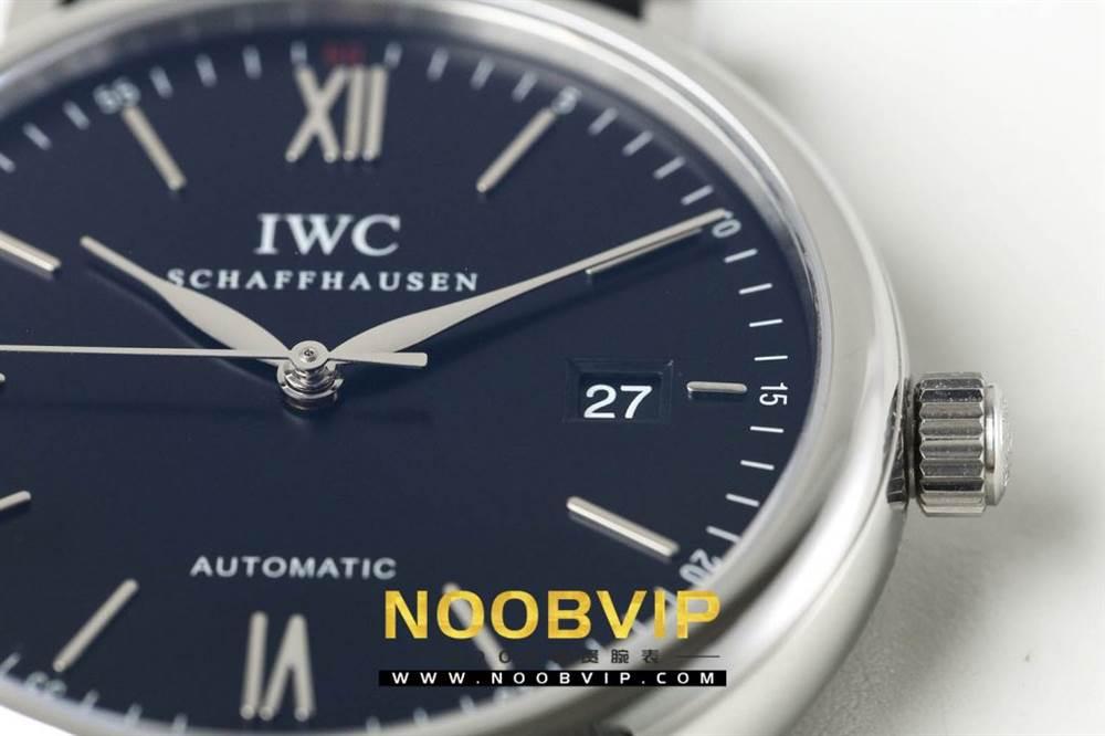 AF厂万国柏涛菲诺系列IW356512腕表首发-AF厂万国蓝面限量款 第13张
