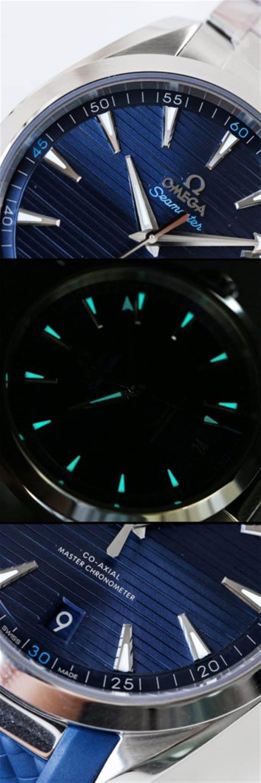 VS厂欧米茄海马AQUATERRA150米天文台评测