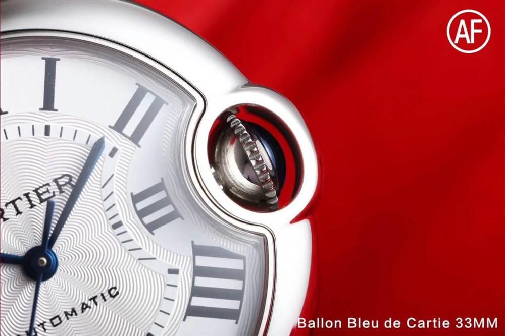 AF厂卡地亚蓝气球33mm系列W6920085腕表首发详解 第7张