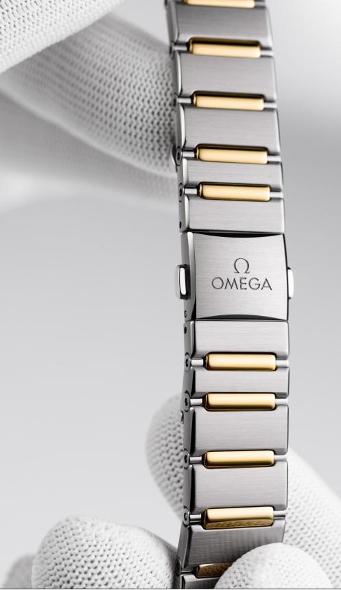 欧米茄星座系列复刻表曼哈顿女士腕表的制表工艺