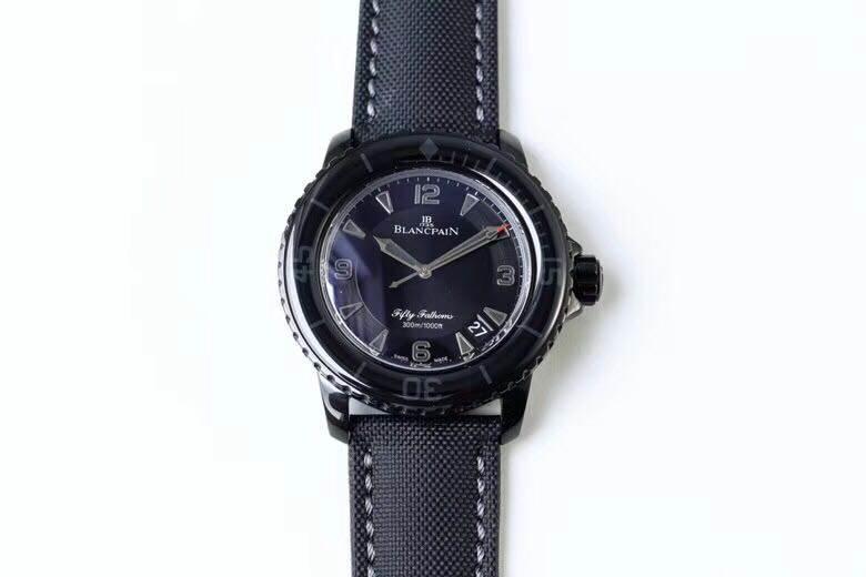 ZF厂宝珀五十噚系列5015-11C30-52黑武士腕表首发详解 第5张