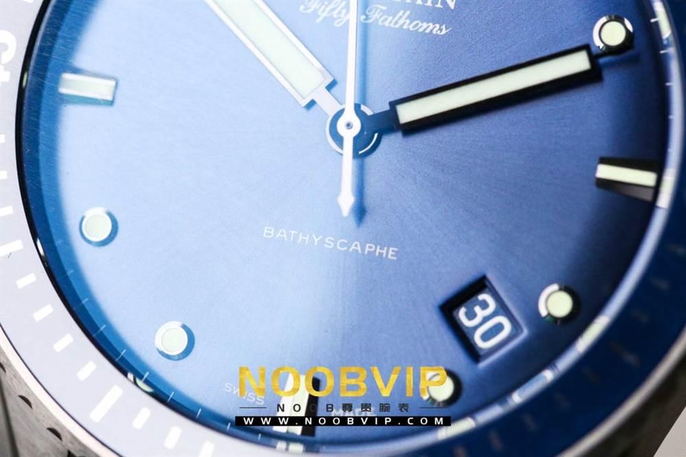 GF厂宝珀五十噚系列5100深潜器腕表首发详解-GF新品上市 第6张