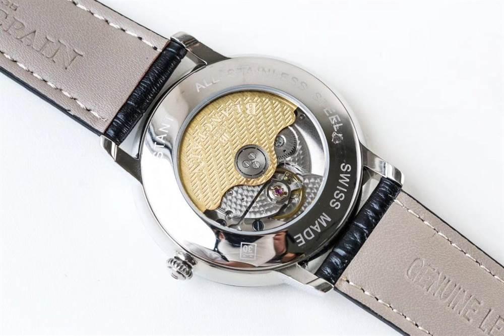DM厂宝珀经典系列6651-1127-55B腕表首发详解 第9张