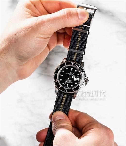 尼龙腕表表带如何拆装-如何自己更换表带 第7张