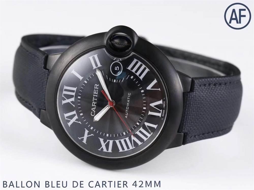 AF厂卡地亚蓝气球系列WSBB0015黑骑士腕表首发详解 第4张