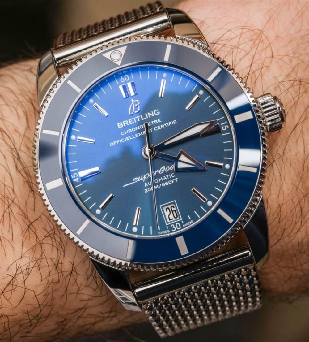 百年灵Superocean Heritage II 腕表记录-腕表市场火热款式 第10张