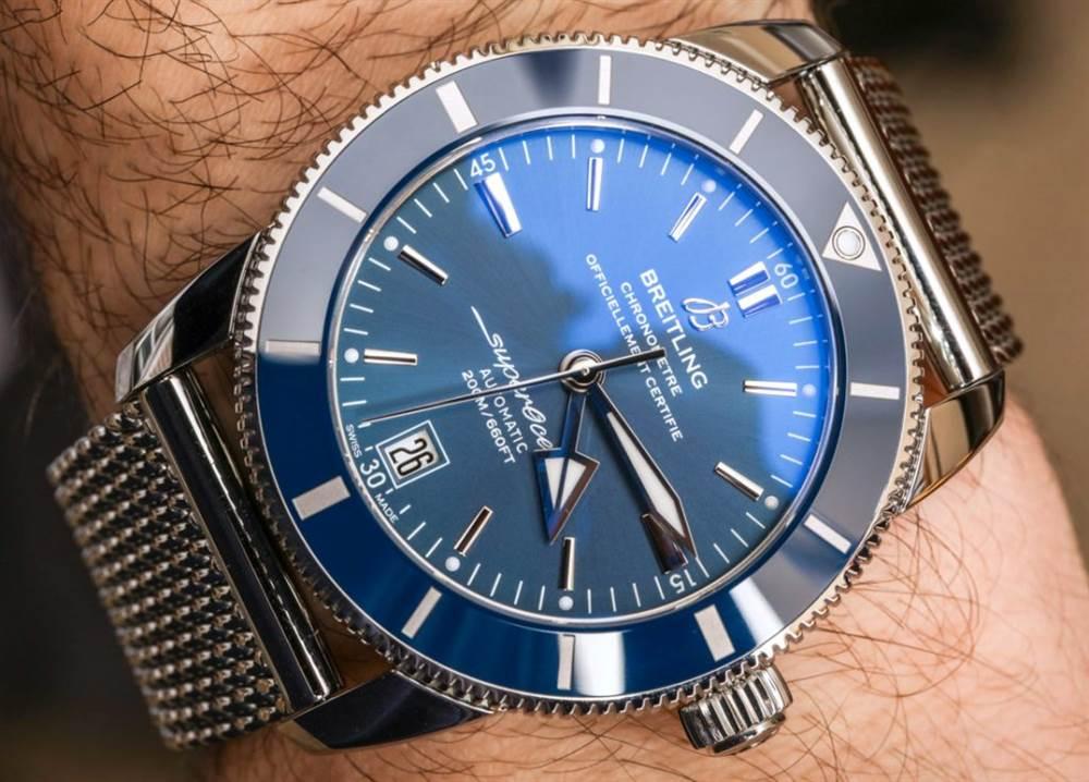 百年灵Superocean Heritage II 腕表记录-腕表市场火热款式 第13张