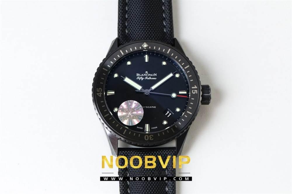 GF厂宝珀五十噚系列5000深潜器腕表首发 第3张