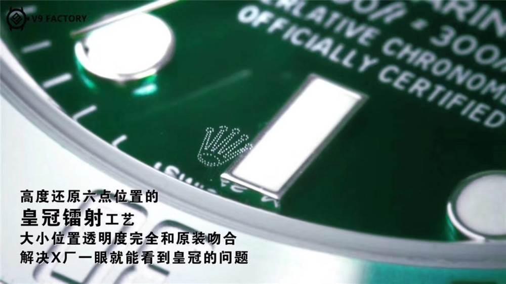 v9厂劳力士绿水鬼做工到底怎么样-蓝游丝的3135机芯是什么梗