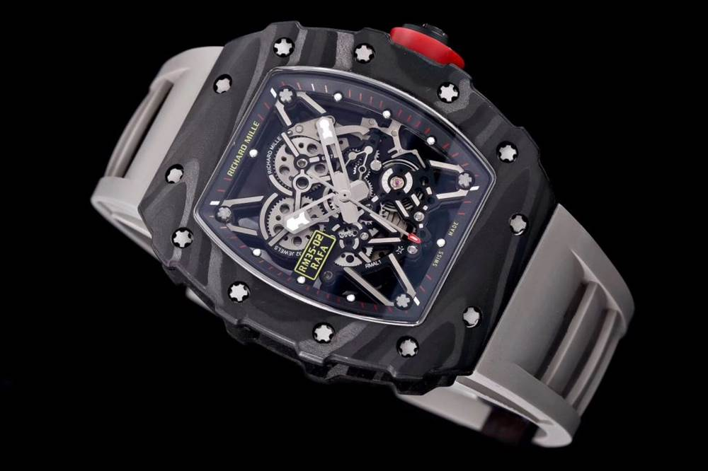 """kv厂理查德米尔RM035碳纤维系列表款-最""""豪""""的奢侈腕表 第3张"""