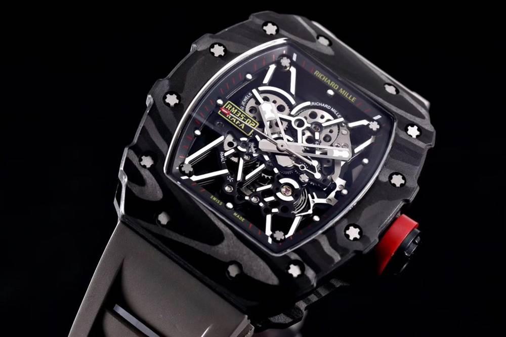 """kv厂理查德米尔RM035碳纤维系列表款-最""""豪""""的奢侈腕表 第6张"""