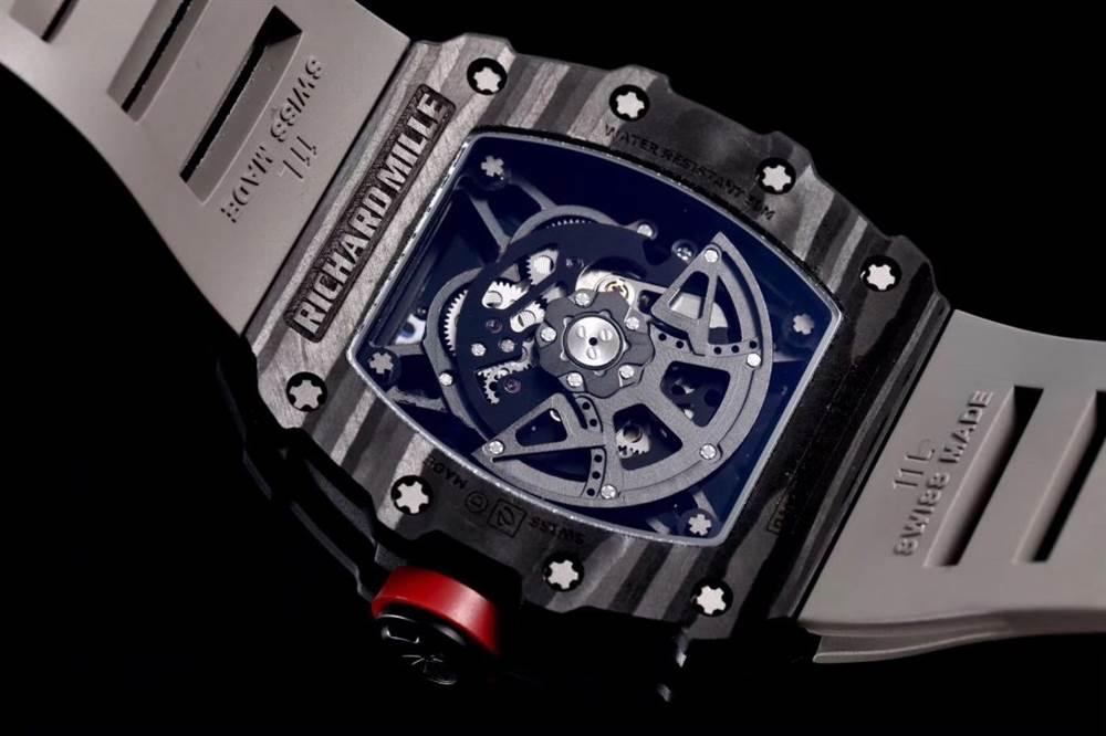 """kv厂理查德米尔RM035碳纤维系列表款-最""""豪""""的奢侈腕表 第7张"""