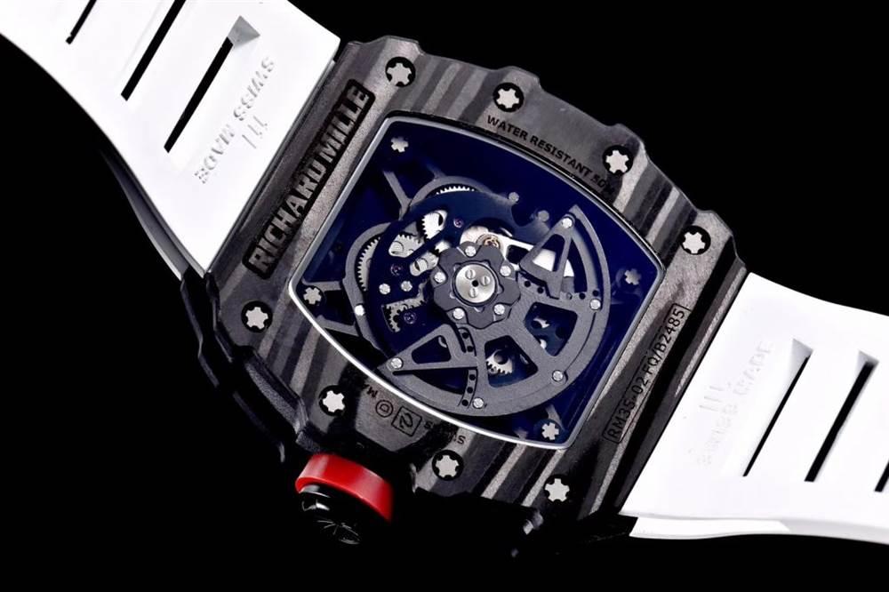 """kv厂理查德米尔RM035碳纤维系列表款-最""""豪""""的奢侈腕表 第17张"""