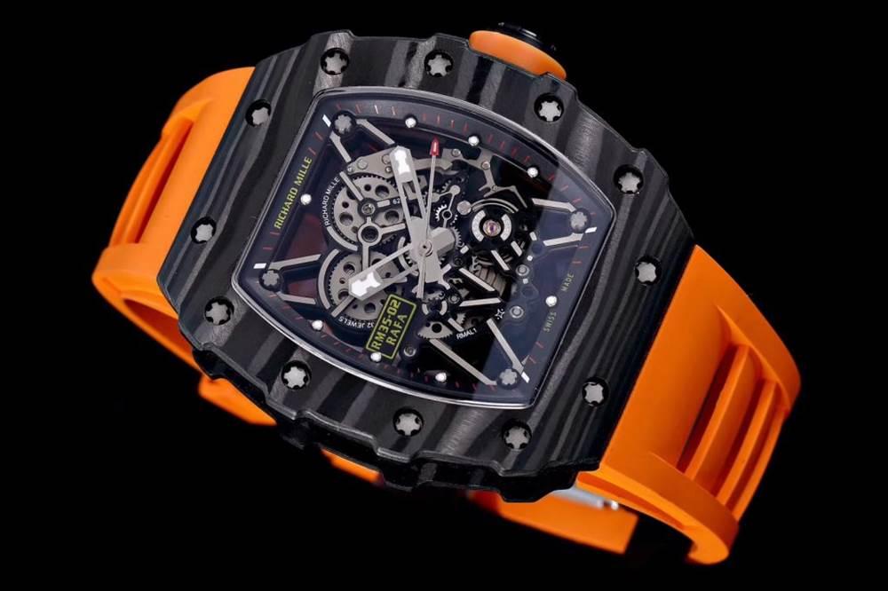 """kv厂理查德米尔RM035碳纤维系列表款-最""""豪""""的奢侈腕表 第30张"""
