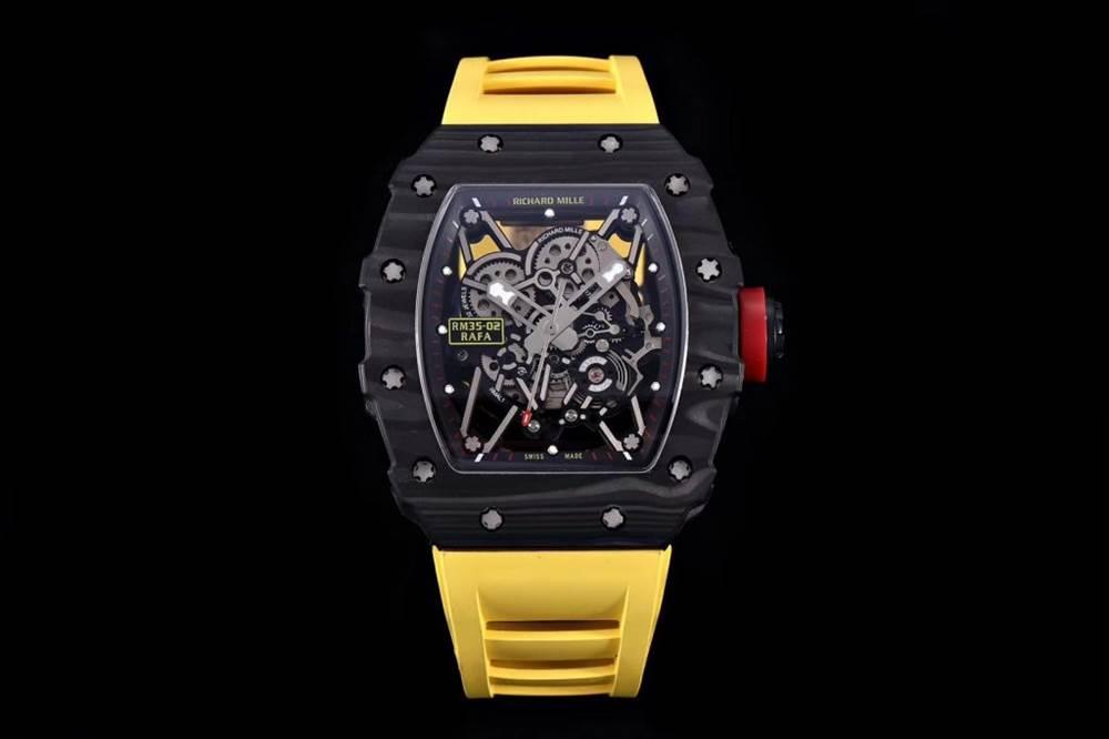 """kv厂理查德米尔RM035碳纤维系列表款-最""""豪""""的奢侈腕表 第38张"""