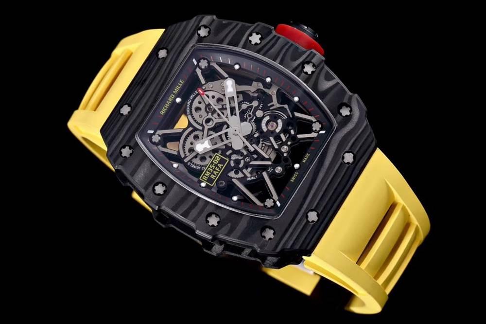 """kv厂理查德米尔RM035碳纤维系列表款-最""""豪""""的奢侈腕表"""