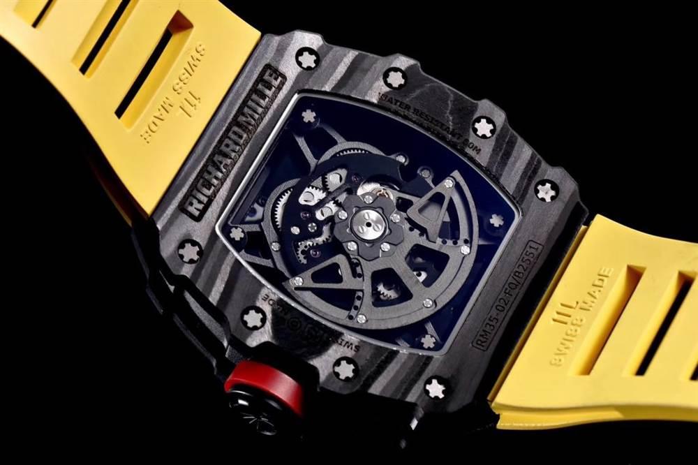 """kv厂理查德米尔RM035碳纤维系列表款-最""""豪""""的奢侈腕表 第43张"""