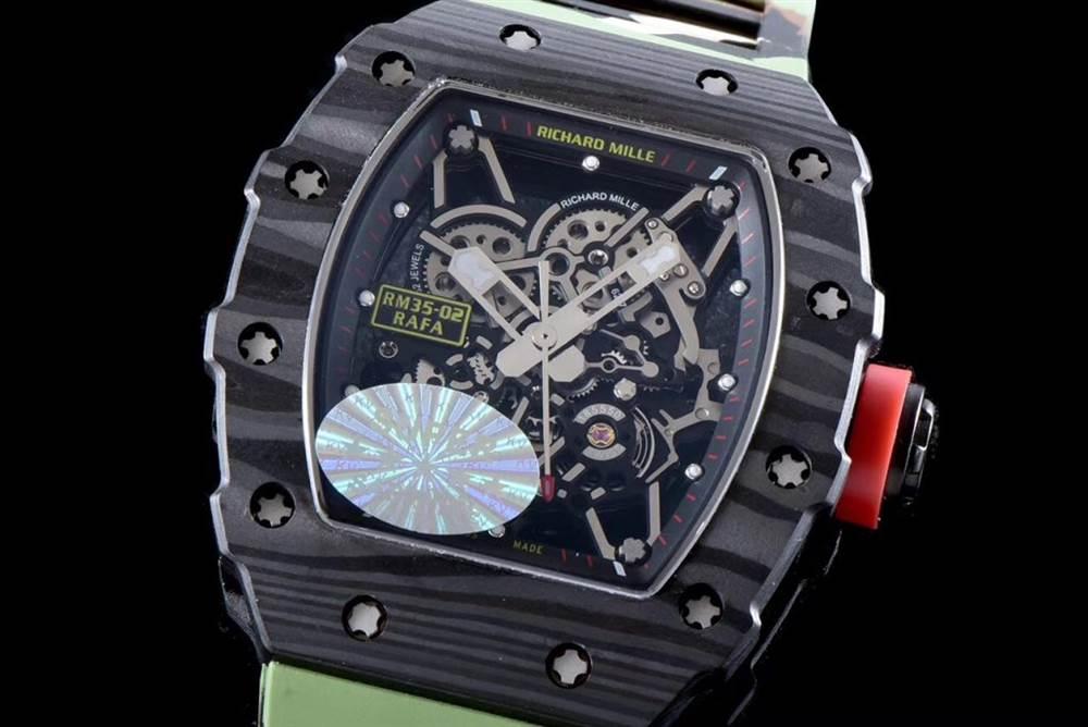 """kv厂理查德米尔RM035碳纤维系列表款-最""""豪""""的奢侈腕表 第55张"""