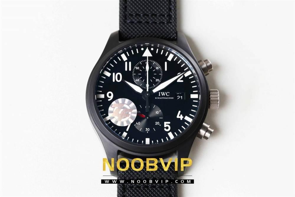 ZF厂万国飞行员TOP GUN 海军空战部队计时腕表全网最佳评测