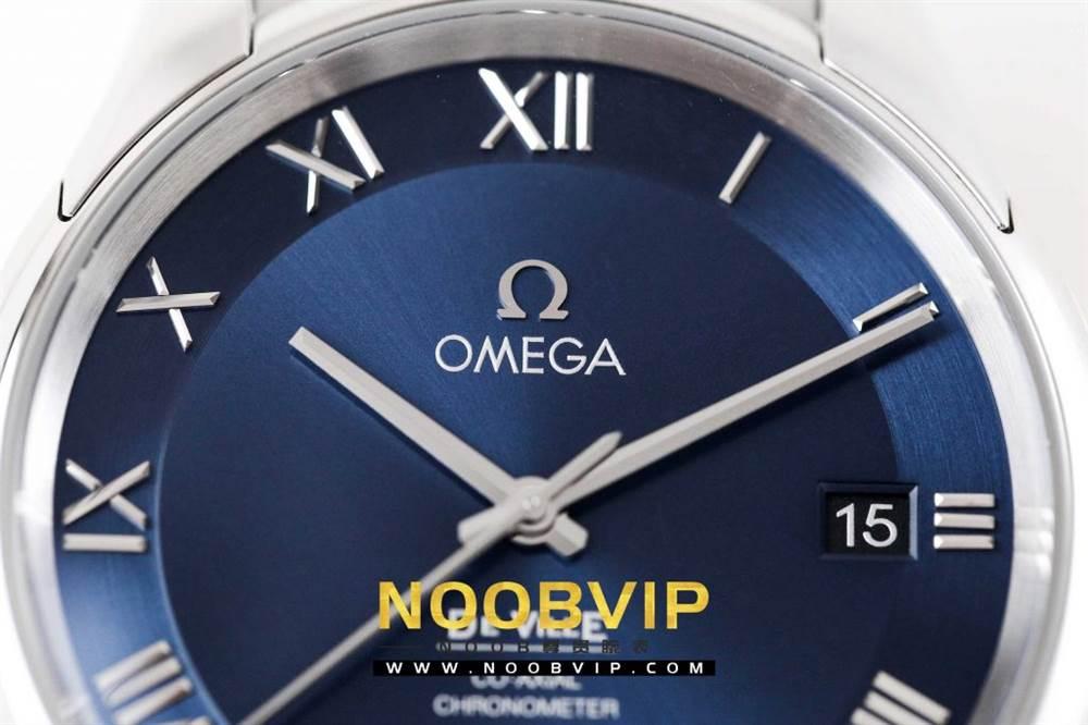 VS厂欧米茄碟飞系列「白钢蓝面」431.10.41.21.03.001腕表做工如何