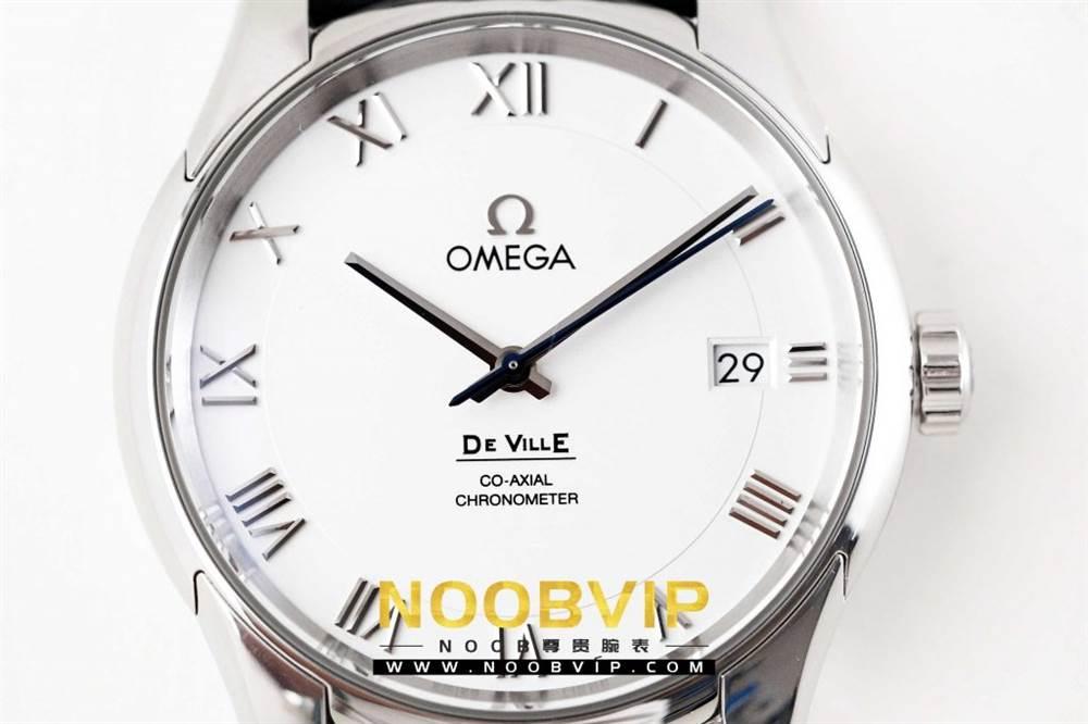 VS厂欧米茄碟飞系列431.13.41.21.02.001腕表「白壳白面皮带」评测 第5张