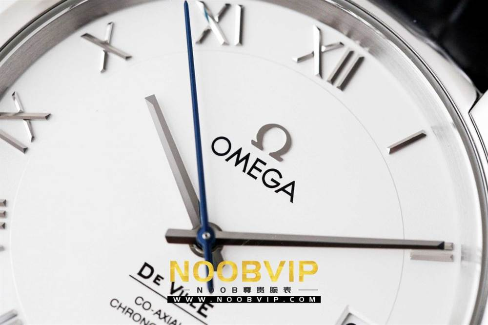 VS厂欧米茄碟飞系列431.13.41.21.02.001腕表「白壳白面皮带」评测 第7张