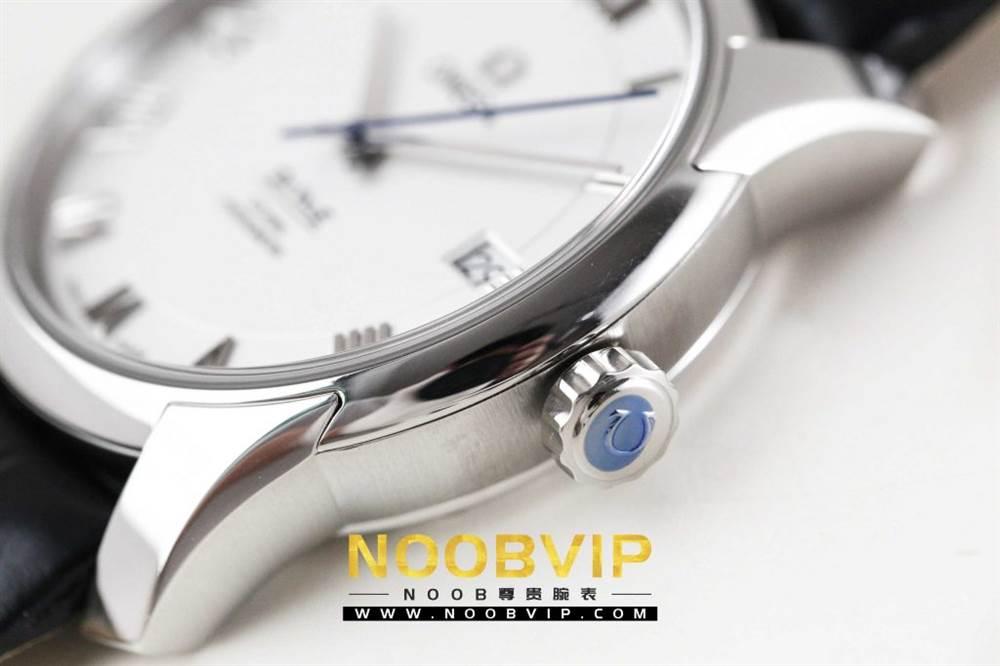 VS厂欧米茄碟飞系列431.13.41.21.02.001腕表「白壳白面皮带」评测 第8张