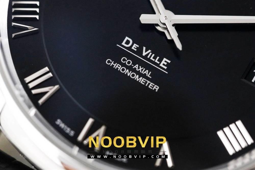VS厂欧米茄碟飞系列431.13.41.21.01.001腕表「白壳黑面评测」 第8张
