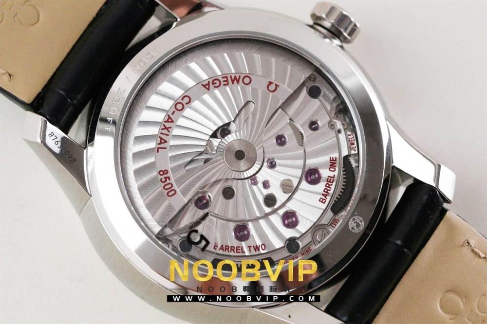 VS厂欧米茄碟飞系列431.13.41.21.02.001腕表「白壳白面皮带」评测 第13张
