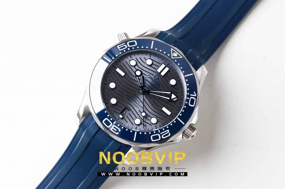 VS厂欧米茄海马300银灰色面潜水腕表首发详解 第2张
