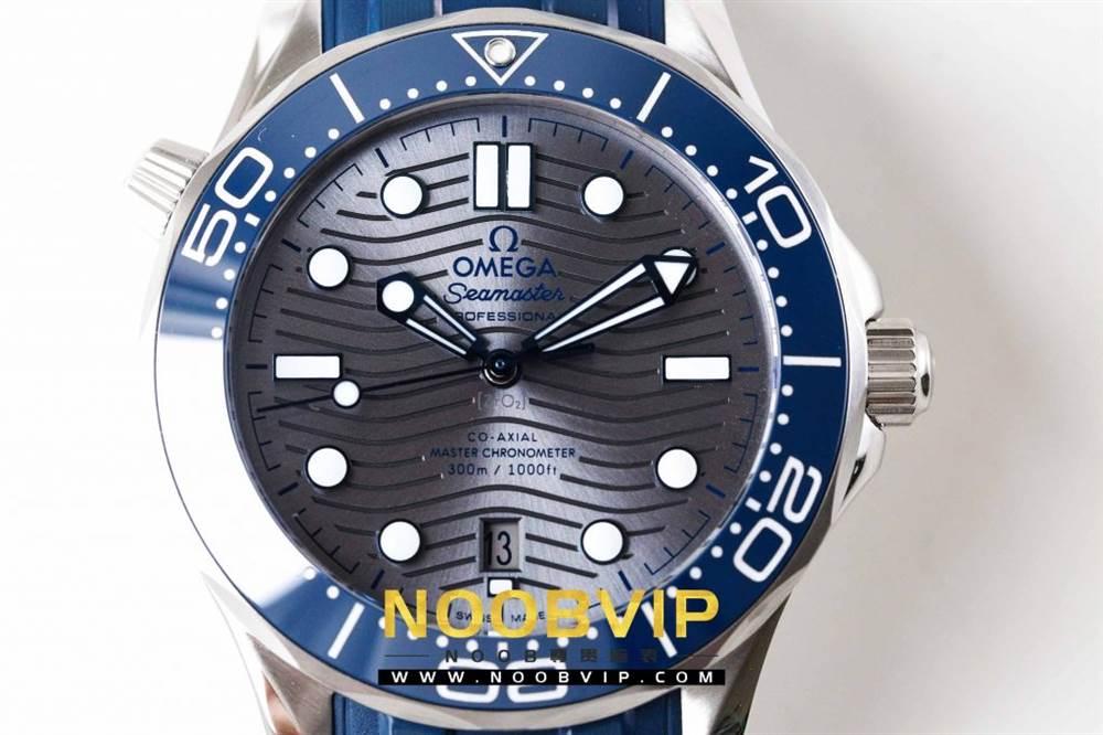 VS厂欧米茄海马300银灰色面潜水腕表首发详解 第5张