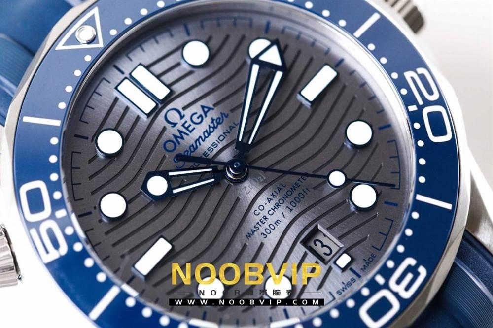 VS厂欧米茄海马300银灰色面潜水腕表首发详解 第10张