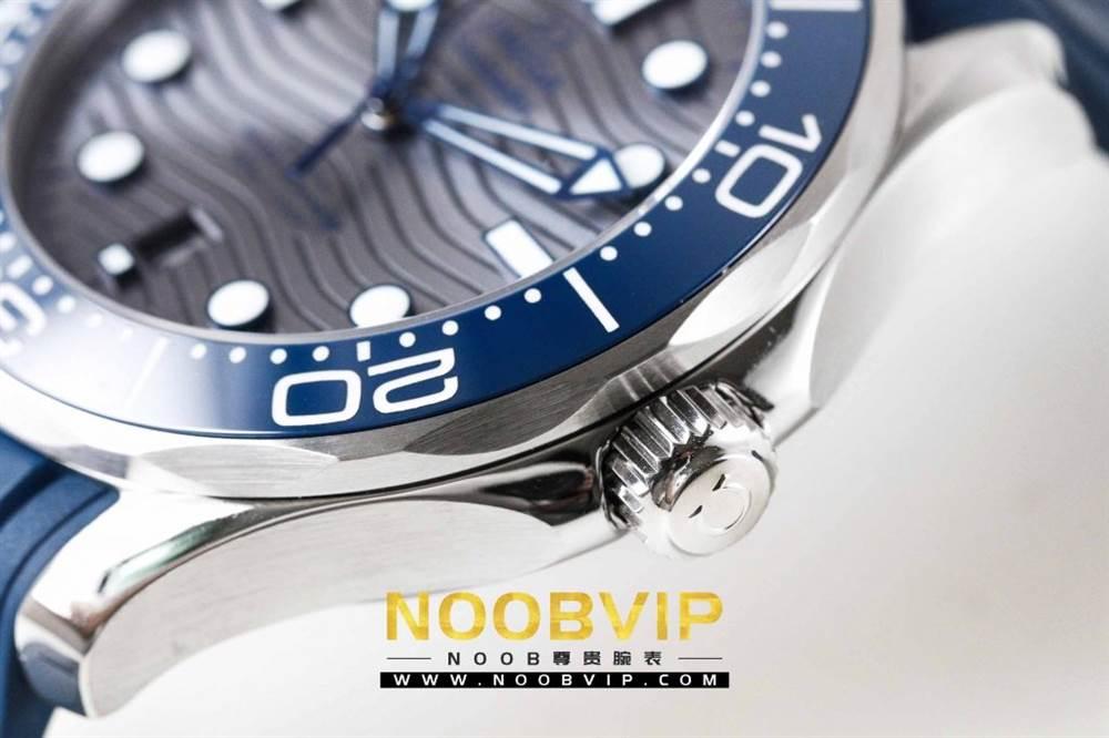 VS厂欧米茄海马300银灰色面潜水腕表首发详解 第13张