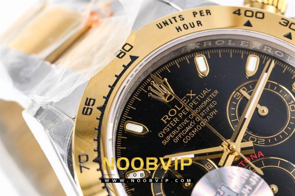 OM厂劳力士迪通拿116503间金黑盘腕表首发详解 第12张