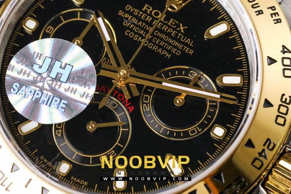 OM厂劳力士迪通拿116503间金黑盘腕表首发详解 第15张