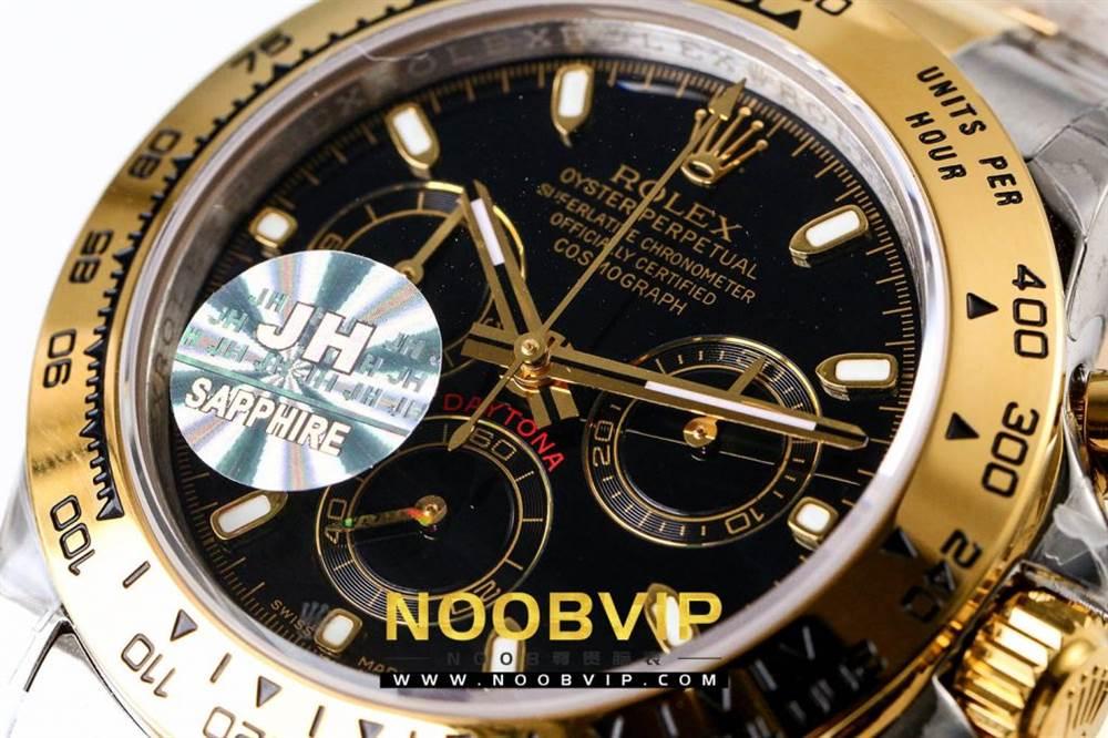 OM厂劳力士迪通拿116503间金黑盘腕表首发详解 第17张