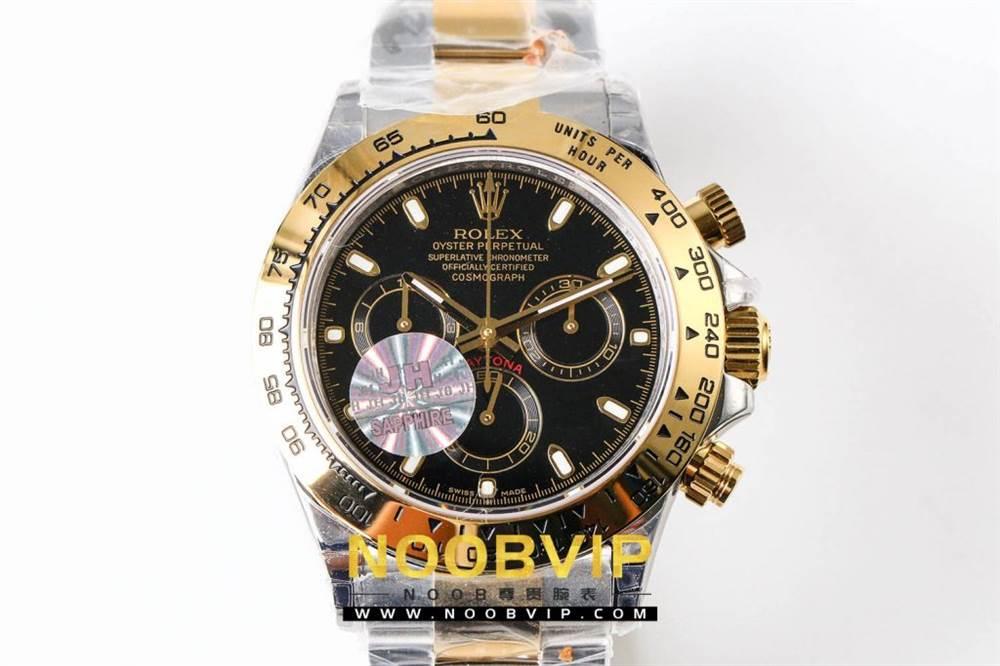 OM厂劳力士迪通拿116503间金黑盘腕表首发详解 第3张