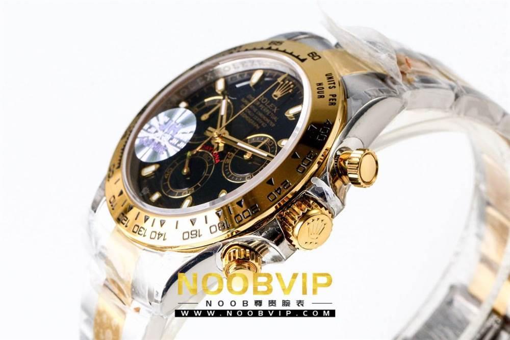 OM厂劳力士迪通拿116503间金黑盘腕表首发详解 第6张