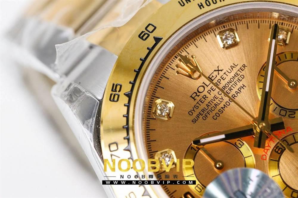JH厂劳力士迪通拿116523-78593香槟金腕表首发详解 第12张