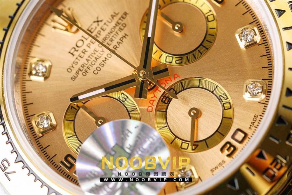 JH厂劳力士迪通拿116523-78593香槟金腕表首发详解 第15张