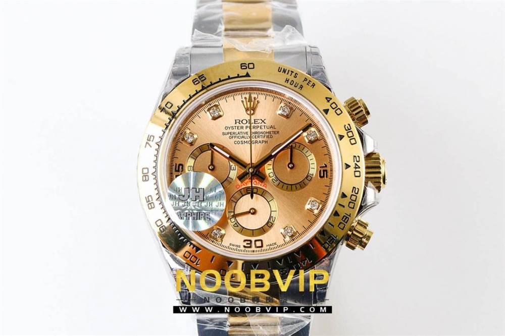 JH厂劳力士迪通拿116523-78593香槟金腕表首发详解 第3张